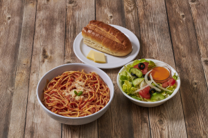 Spaghetti with Tomato Sauce Platter - delivery menu