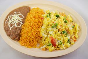 Huevos a la Mexicana - delivery menu