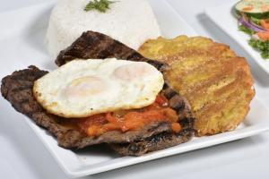Bistec a La Parilla a Caballo - delivery menu