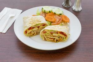 2. Caesar Wrap - delivery menu