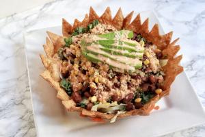 Tortilla Salad w/ Zesty Dressing - delivery menu