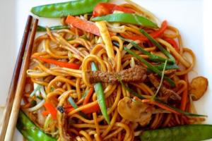 46. Beef Lo Mein - delivery menu