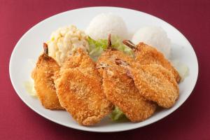 35. Fried Shrimp Plate - delivery menu