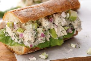 Deluxe Chicken Salad Sandwich - delivery menu