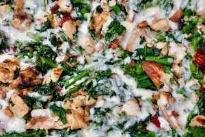 Broccoli Rabe Pizza - delivery menu