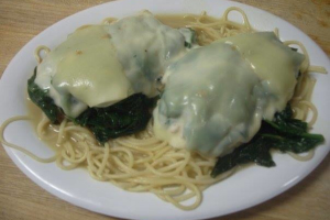 Chicken Florentine - delivery menu