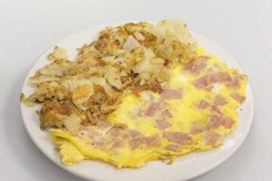 Ham Omelette - delivery menu