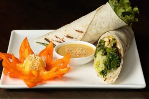 Thai Chicken Wrap - delivery menu