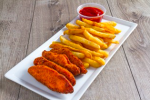 Kid's Chicken Fingers and Fries - delivery menu