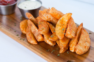Potato Wedges Tray - delivery menu
