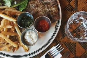 10 oz. Steak Frites - delivery menu