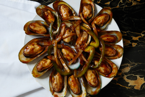 70. Mussels with Special Sauce - delivery menu