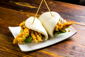 Soft Shell Crab Buns - delivery menu