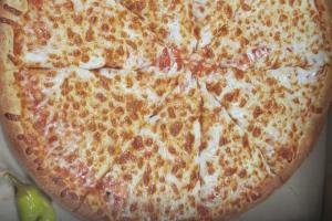 Tomato and Cheese Pizza - delivery menu