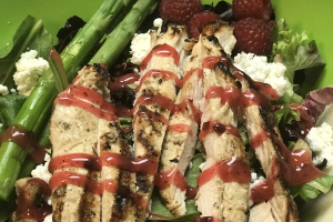 Grilled Chicken and Goat Cheese Salad Lunch - delivery menu