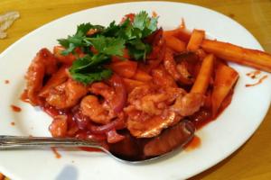 67A. Mango Chicken - delivery menu