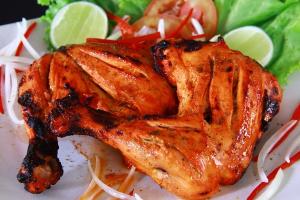 Tandoori Chicken Half - delivery menu