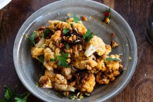 Spicy Roasted Cauliflower - delivery menu
