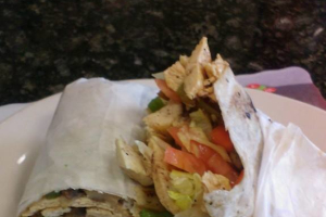 Grilled Chicken Wrap - delivery menu