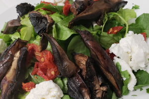 Portobella and Goat Cheese Salad - delivery menu
