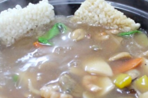 Seafood Rice Soup - delivery menu