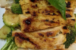 Grilled Chicken Breast Specialty - delivery menu
