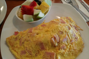 Ham and Cheese Omelette - delivery menu