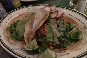 Grilled Chicken Taco - delivery menu
