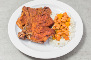 2 Fried Pork Chops - delivery menu