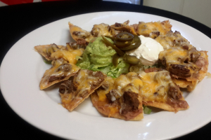 Chicken Fajita Nachos - delivery menu