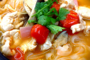 Chicken Tom Yum Noodle Soup - delivery menu