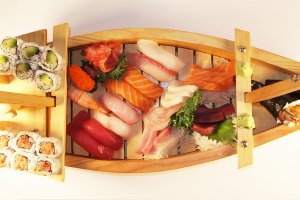 Sushi and Sashimi Love Boat for 2 - delivery menu