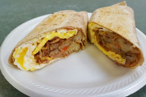 Hendrix Breakfast Wrap - delivery menu