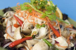 Yum Chaba Mushroom Salad - delivery menu