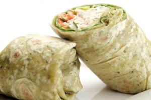 Albacore Tuna Wrap - delivery menu