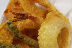 Shrimp and Vegetable Tempura - delivery menu
