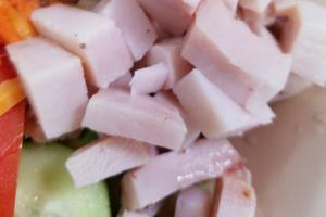 Chef Salad with Turkey - delivery menu