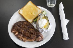 10 oz. Rib Eye Steak - delivery menu