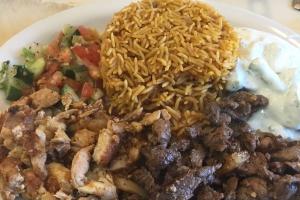 Shawarma Combo Plate - delivery menu