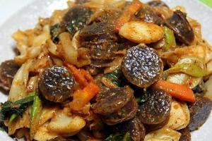 Blood Sausage Stir Fry - delivery menu