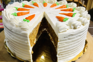 Vegan Carrot Cake - delivery menu