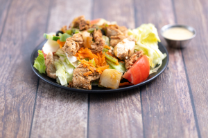 Chicken Kabob Salad - delivery menu