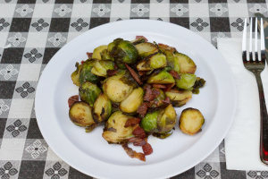Brussel Sprouts with Pancetta - delivery menu