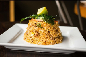 Spicy Thai Herbs Fried Rice - delivery menu