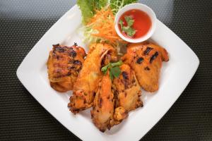 2. BBQ Chicken Lunch - delivery menu