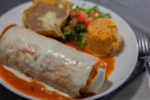 Burrito Suizo - delivery menu