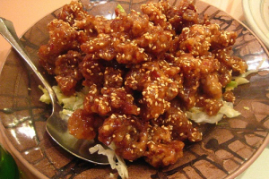 47. Sesame Chicken - delivery menu