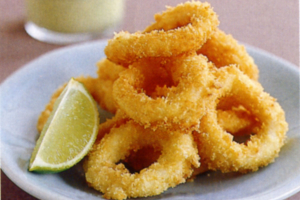 Crispy Calamari Tempura - delivery menu