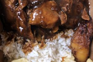 Stew Chicken Lunch - delivery menu