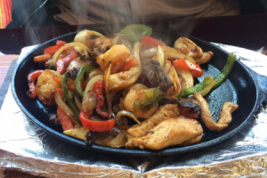 Mixed Fajitas - delivery menu